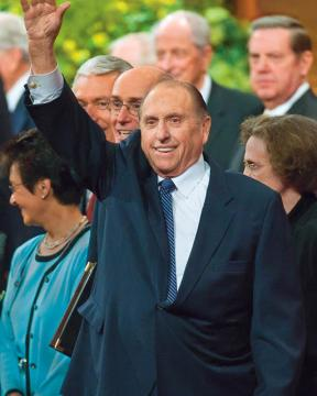 Thomas S. Monson, President of The Church of Jesus Christ of Latter-day Saints